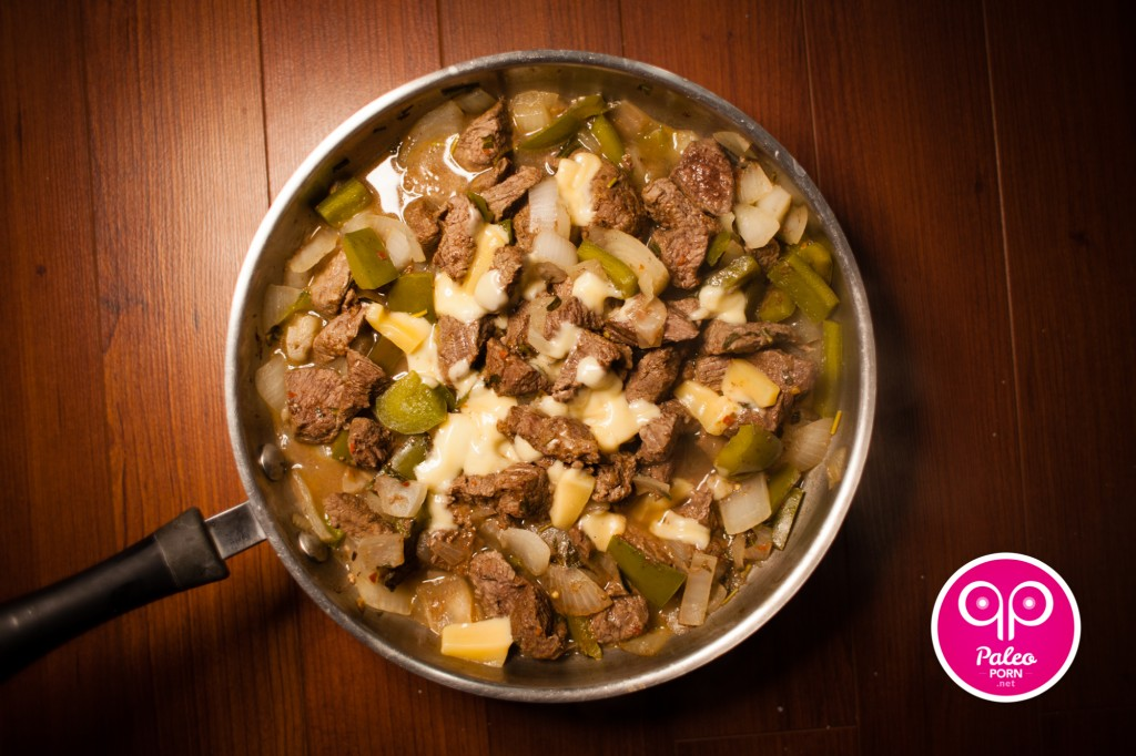 Paleo Philly Cheesesteak