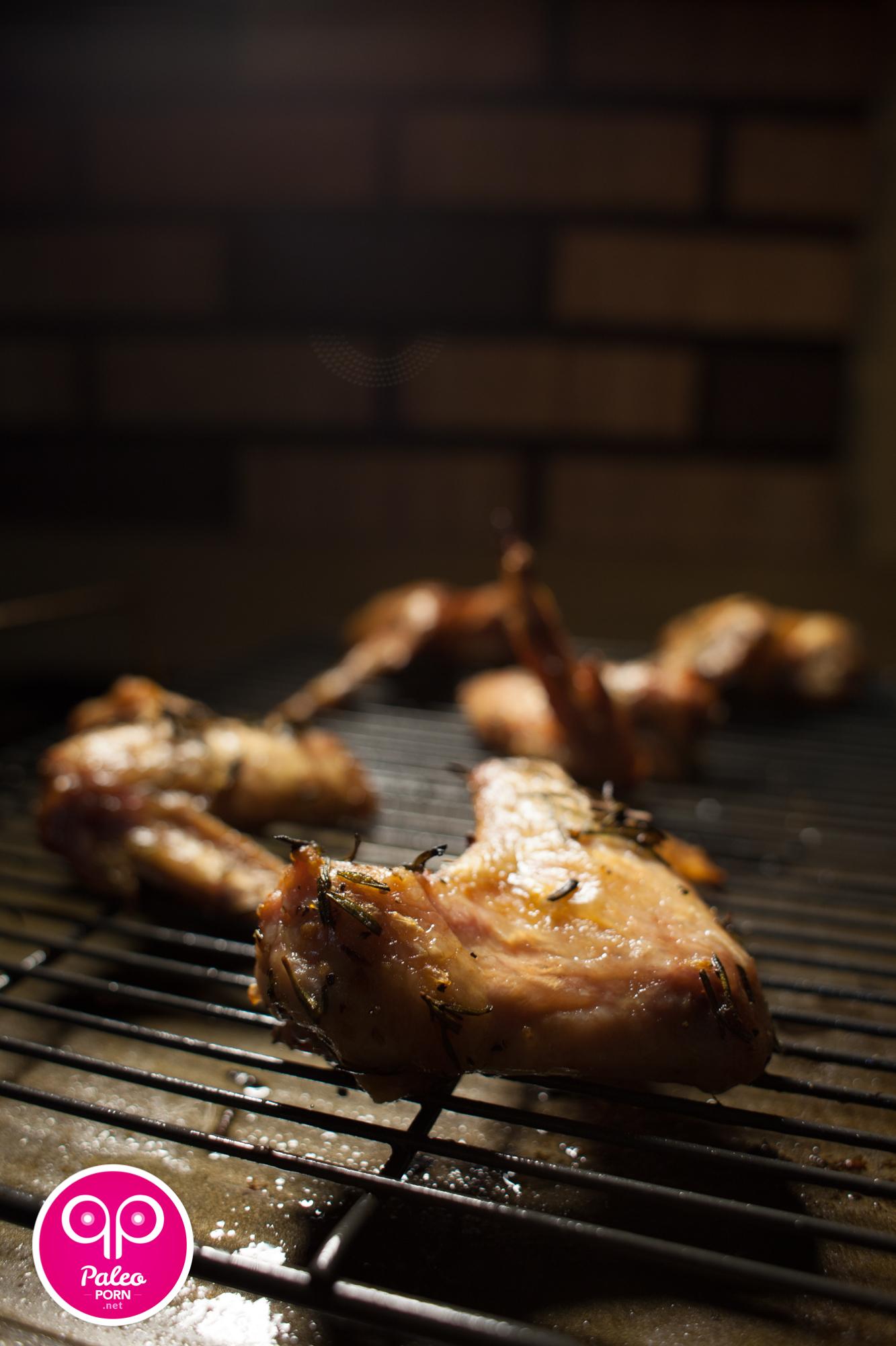 Rosemary Paleo Chicken Wings