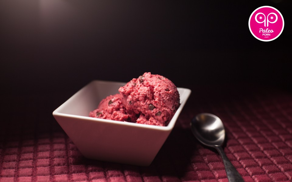 Cranberry Chip Paleo Ice Cream