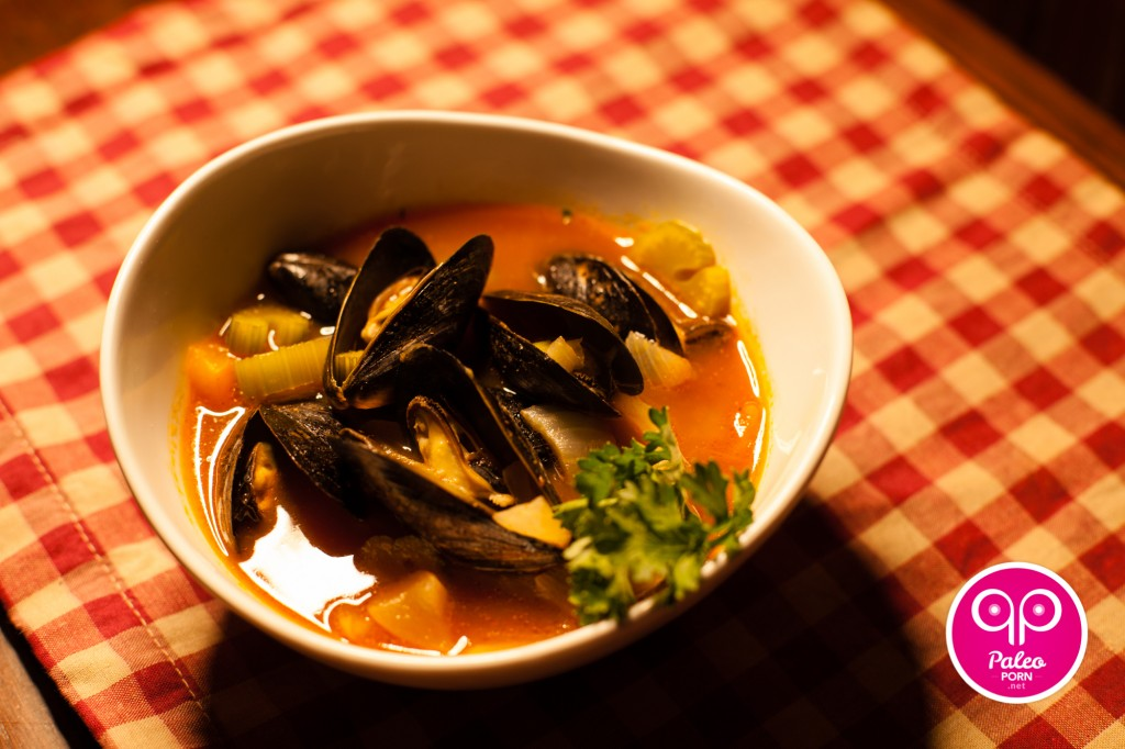 Red Mussel Paleo Soup