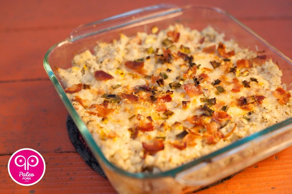 Baked Cauliflower Casserole