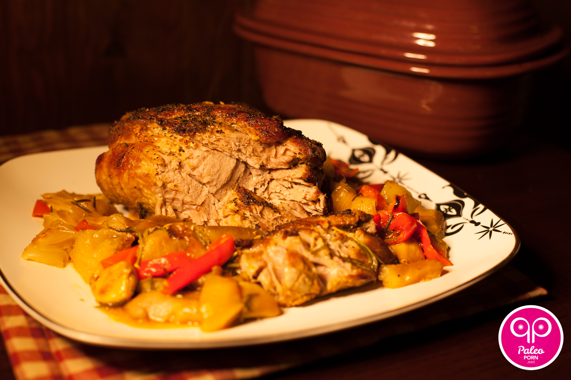 Braised Pork and Pears
