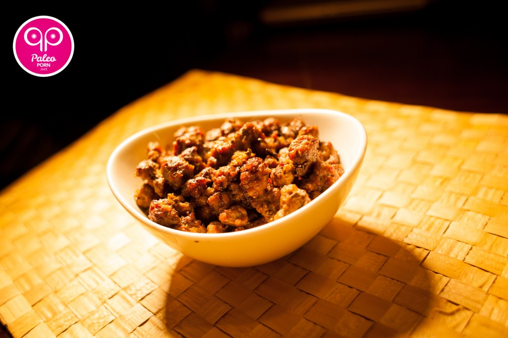 Ground Beef Paleo Popcorn