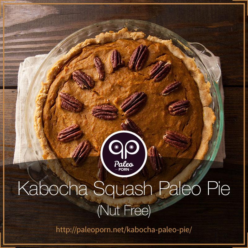 Kabocha Squash Paleo Pie