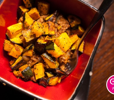 Kabocha Squash and Ground Beef
