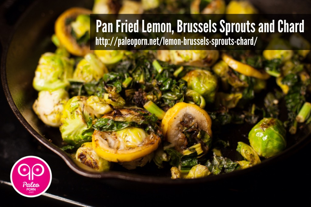Lemon Brussels Sprouts Chard
