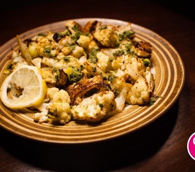 Lemon-Thyme Roasted Cauliflower