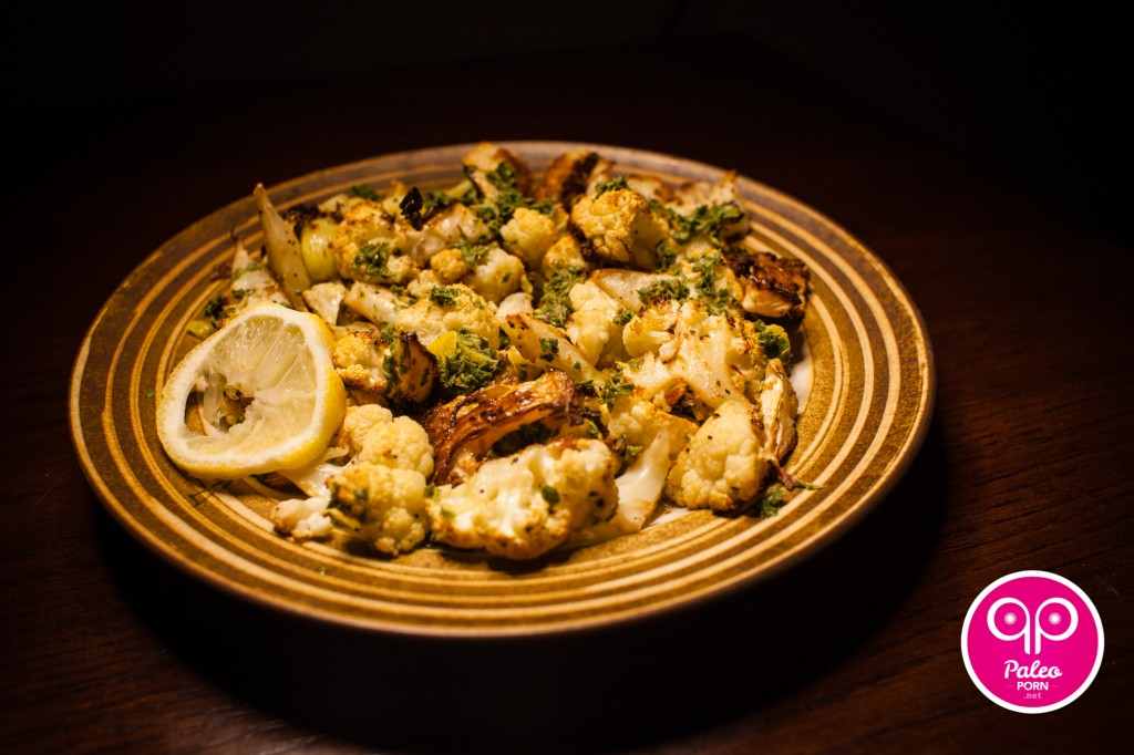 Lemon-Thyme Roasted Cauliflower