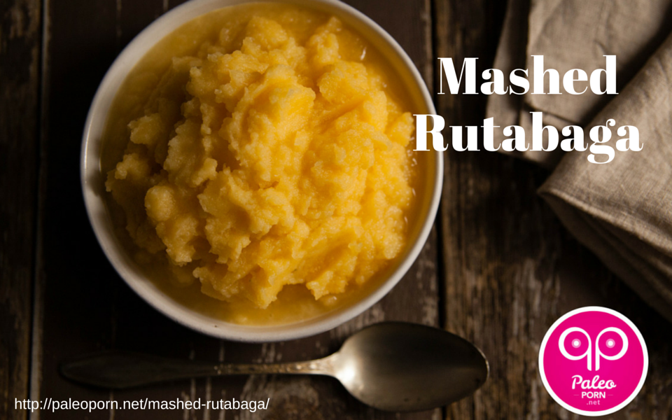 Mashed Rutabaga for Paleo Thanksgiving Menu