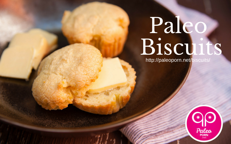 Paleo Biscuits for Paleo Thanksgiving Roundup Menu