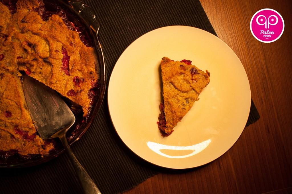 Paleo Cranberry Pie