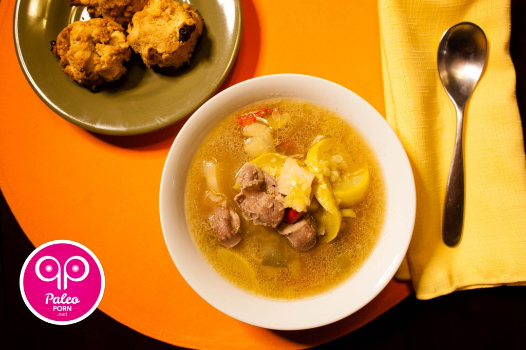 Paleo Gizzard Soup