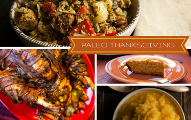 Paleo Thanksgiving Menu