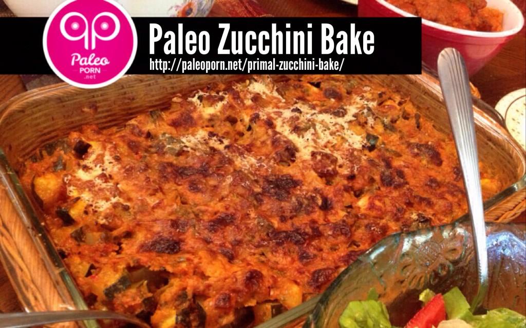 Paleo Zucchini Bake