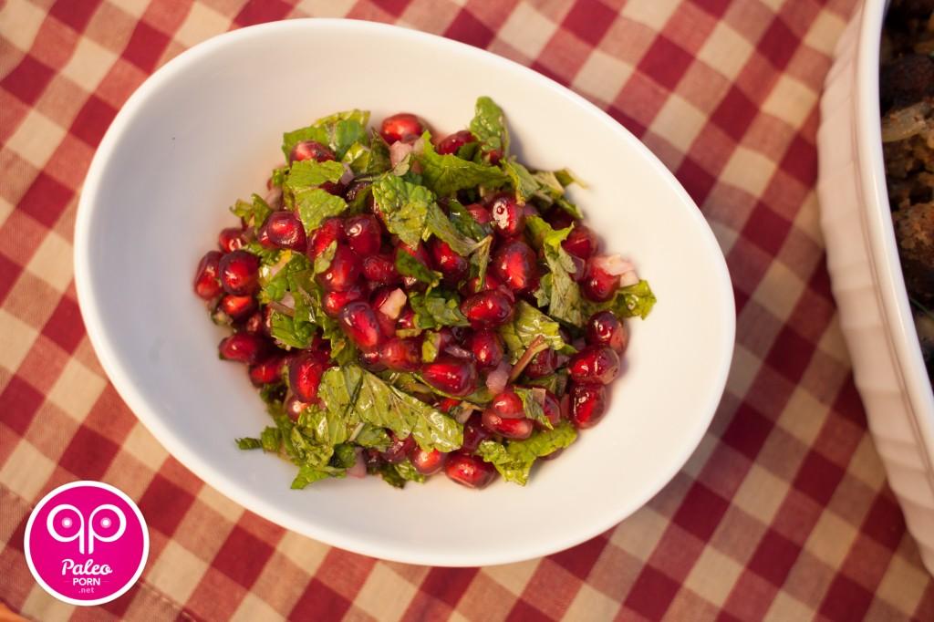 Pomegranate Mint Paleo Relish