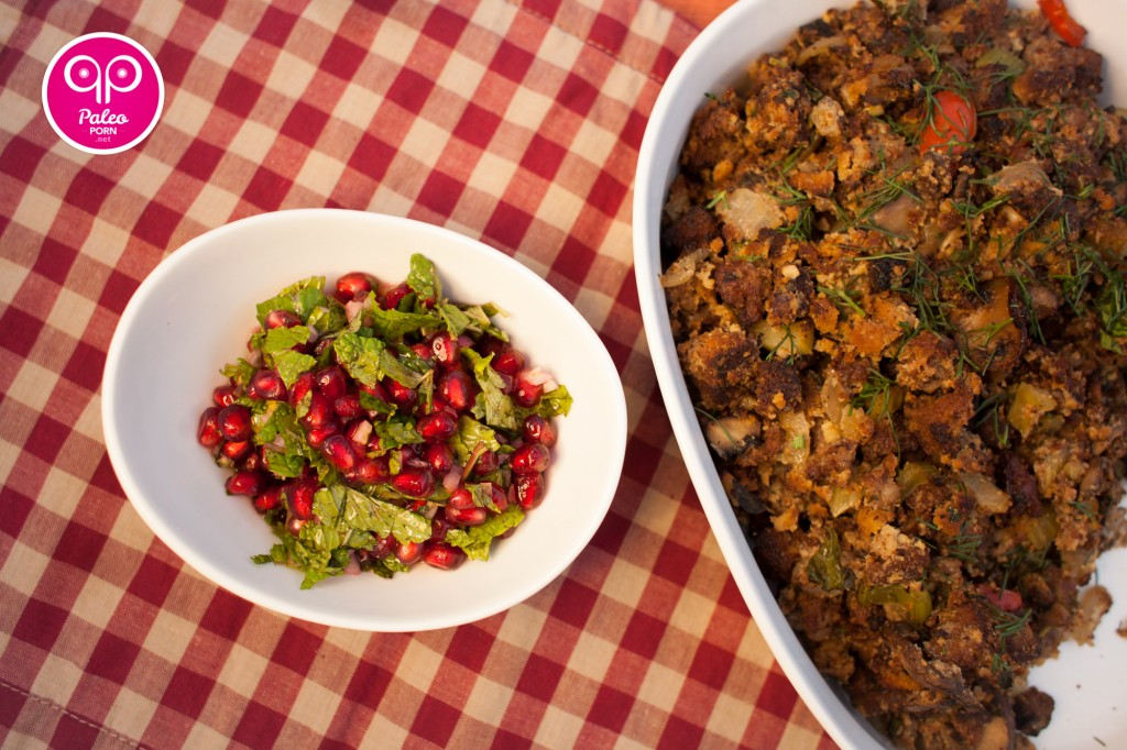 Pomegranate Mint Paleo Relish