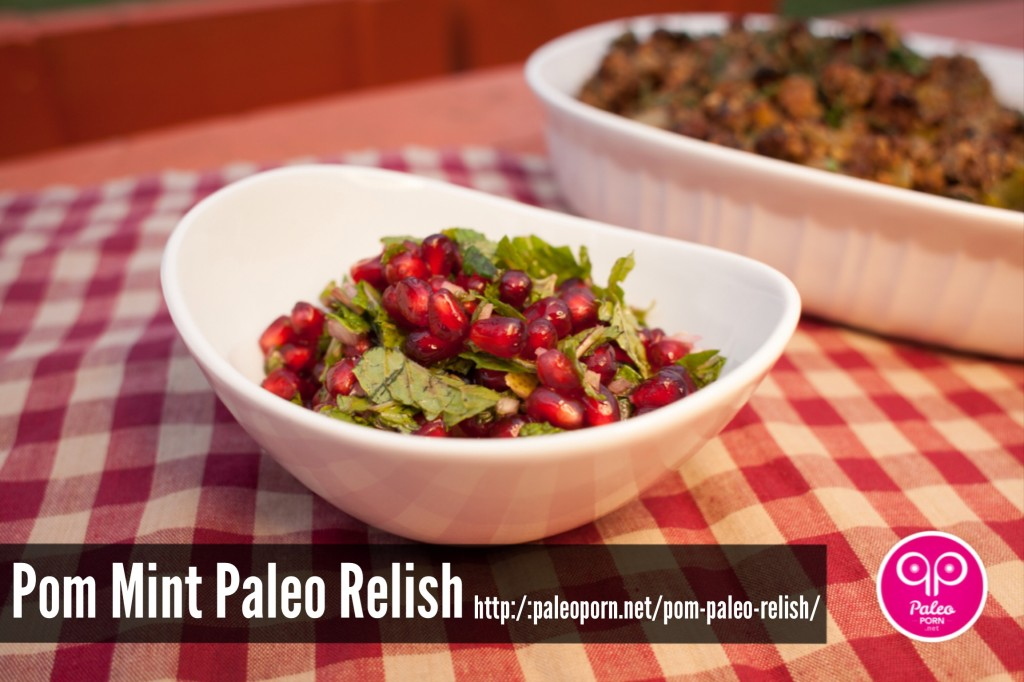 Pomegranate Paleo Relish