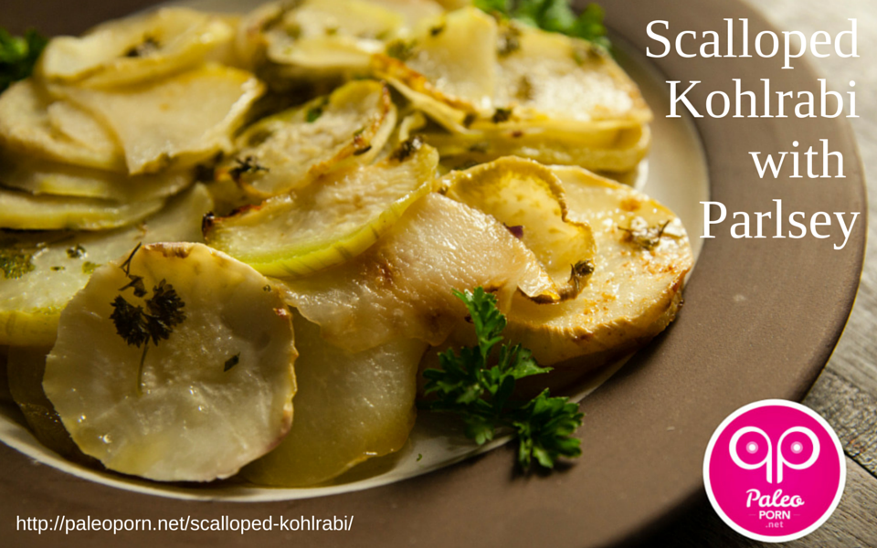 Scalloped Kohlrabi for Paleo Thanksgiving Roundup Menu