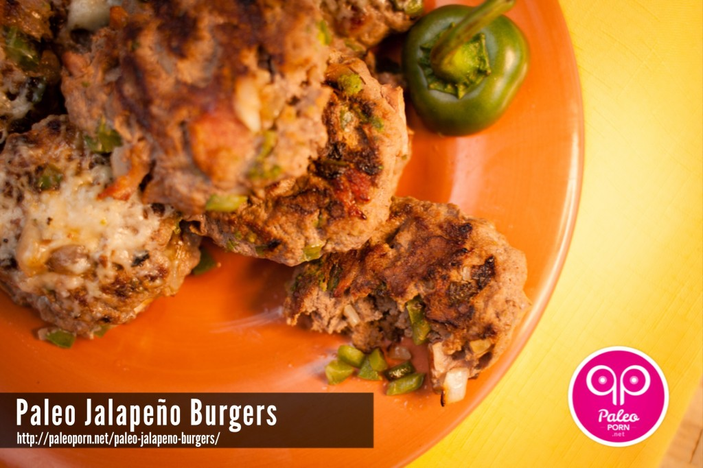 Paleo Jalapeno Burgers