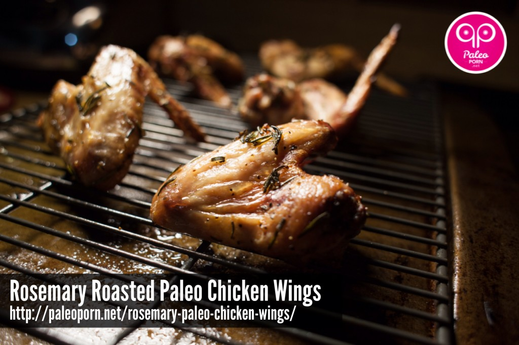 Rosemary Roasted Paleo Chicken Wings