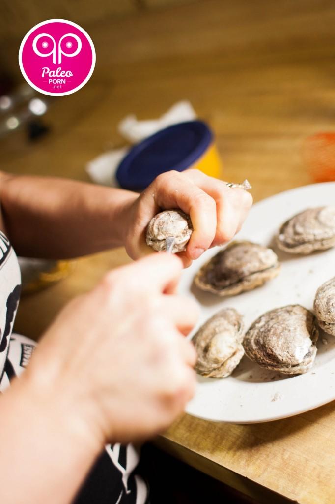 Paleo Raw Oysters