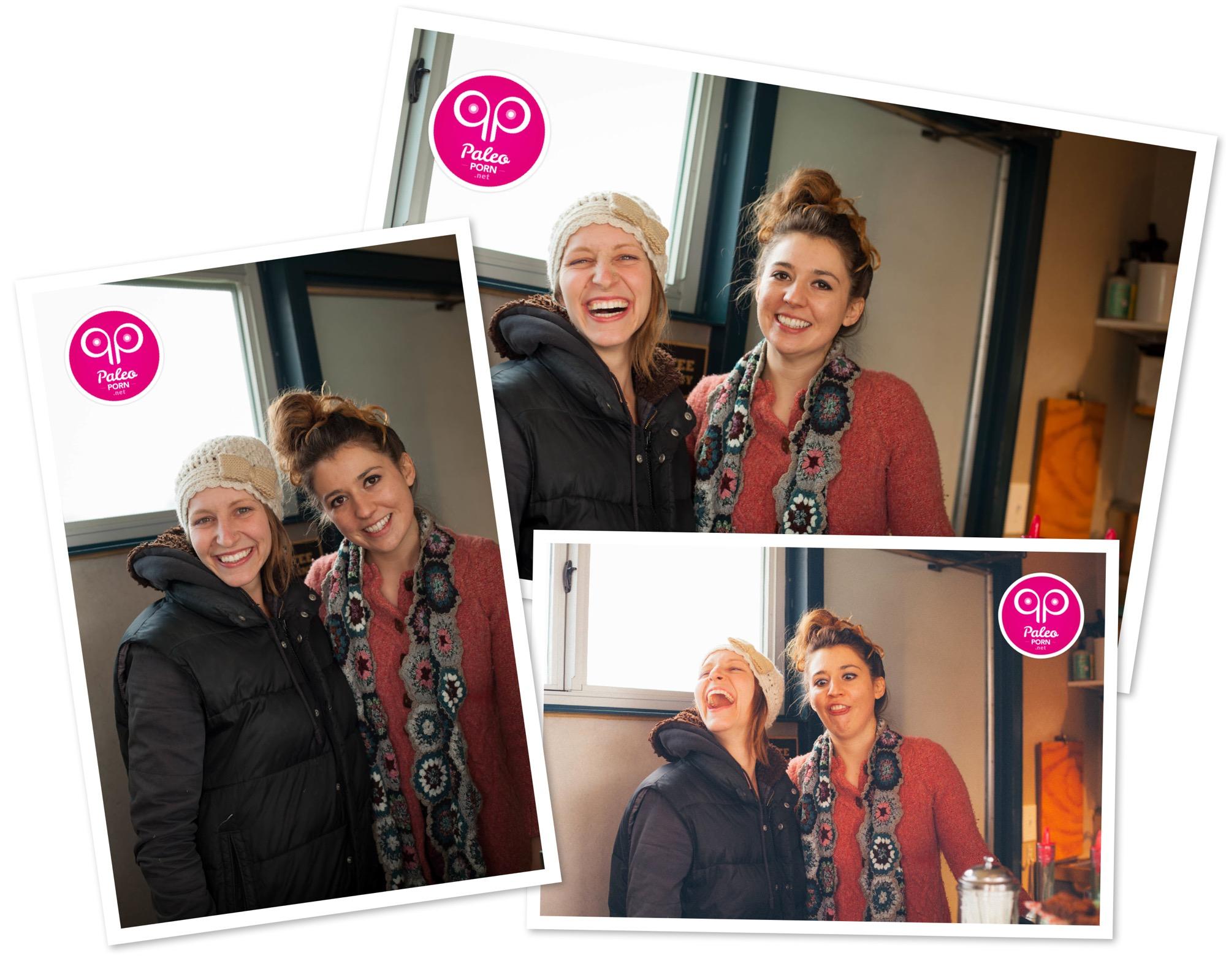 Naomi and Randi at Picnik Austin
