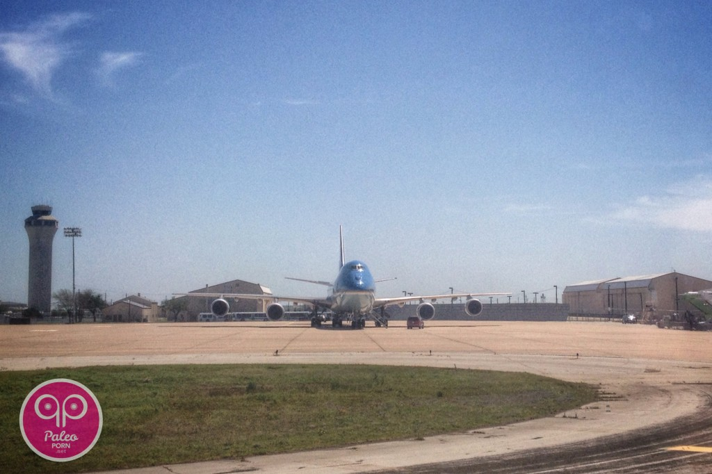 Air Force One in Austin