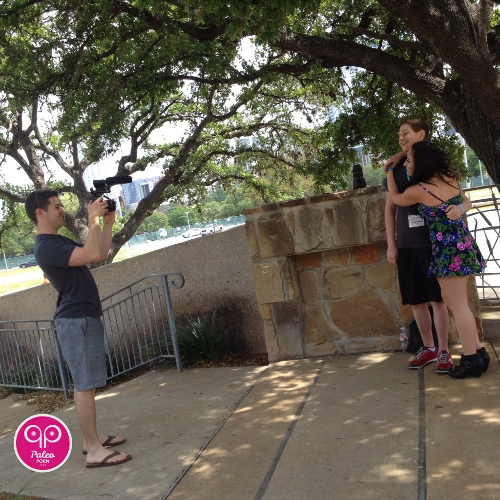 Bill & Hayley Staley with Josh Weissman Paleo f(x)