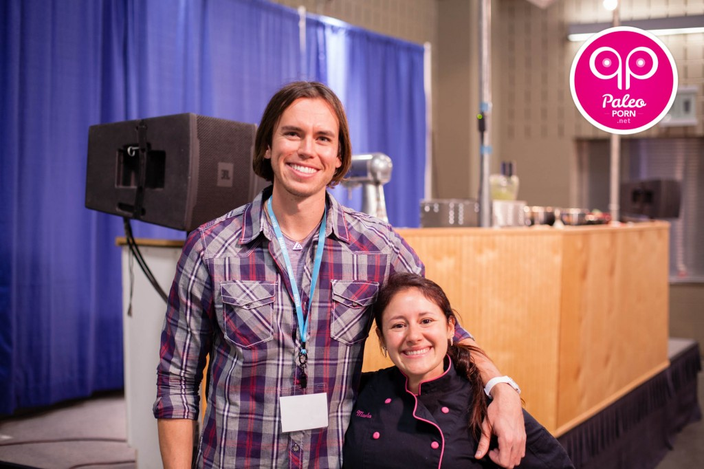 Jeff and Marla Sarris at Paleo f(x)
