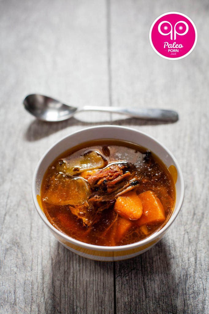 Paleo Ham and Sweet Potato Soup