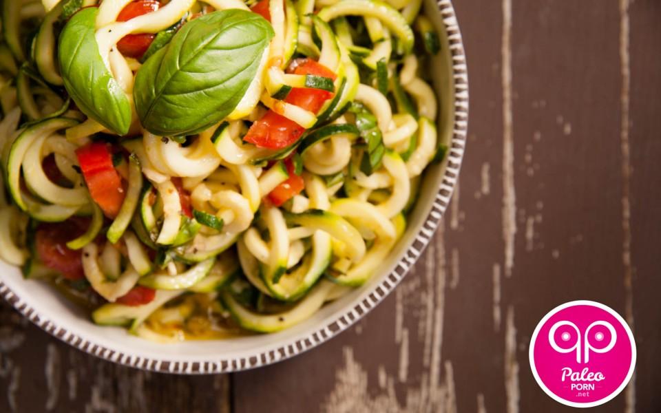 Caprese Zucchini Pasta Salad