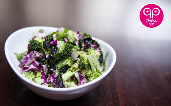 Paleo Recipe Broccoli Seaweed Salad