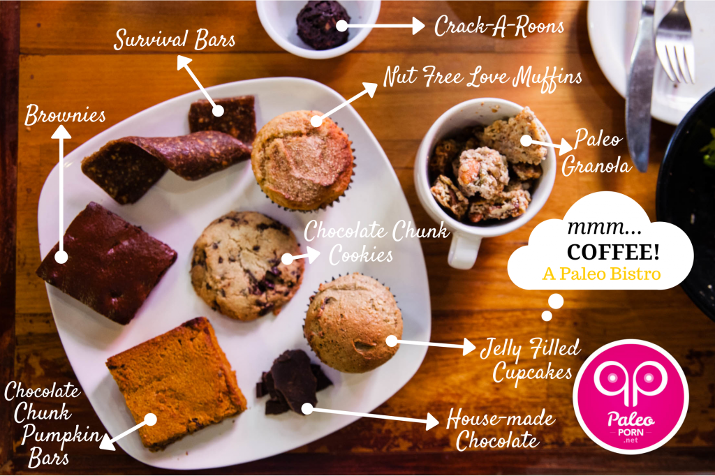 mmm...Coffee Paleo Dessert Tray