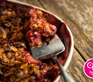 Paleo Recipe Stone Fruit Crisp