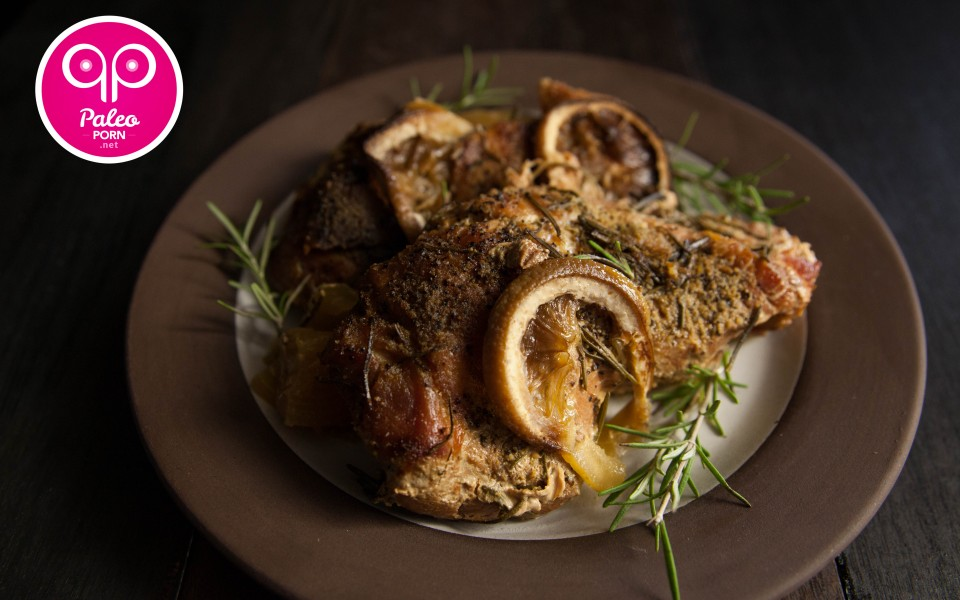 Paleo Recipe Lemon Pork Sirloin Roast