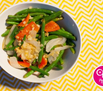 Paleo Recipe Warm Green Bean Salad
