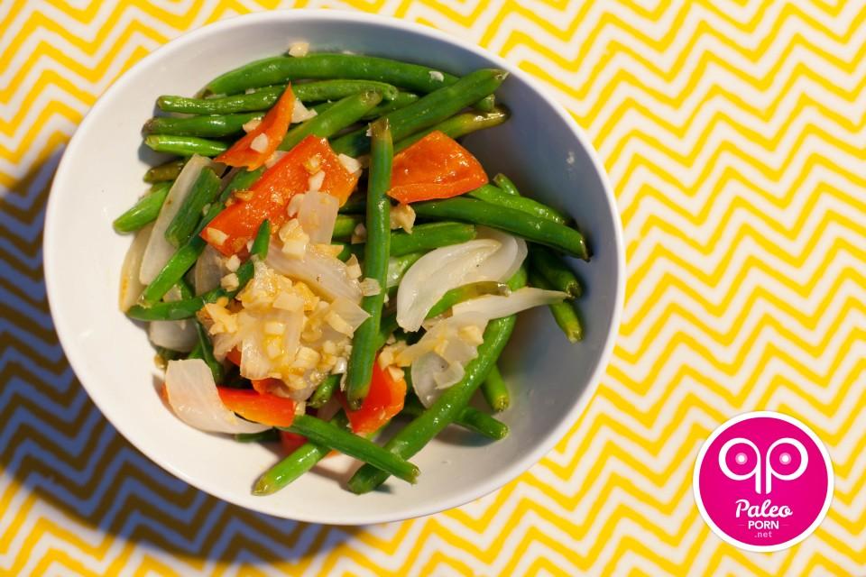 Paleo Recipe Warm Green Bean Salad