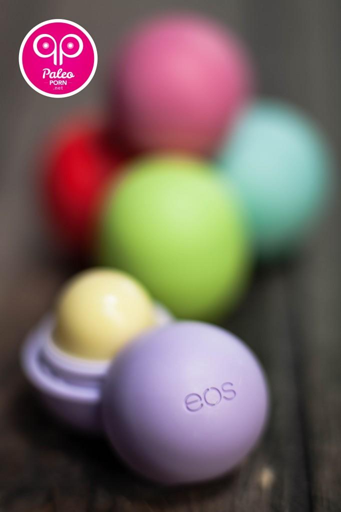 Paleo Skin Care - EOS Organic Lip Balm Spheres