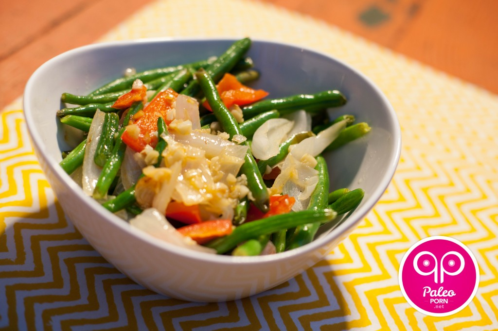 Warm Green Bean Salad