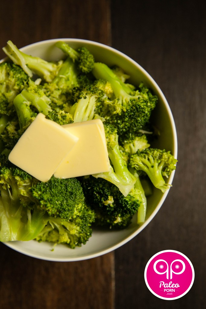 Fatty Steamed Broccoli