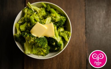 Paleo Recipe Fatty Steamed Broccoli