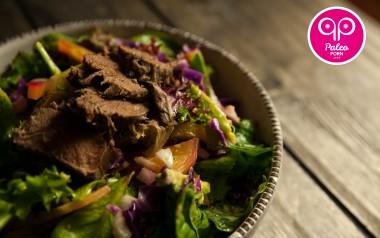 Paleo Recipe Poached Pig Tongue Salad