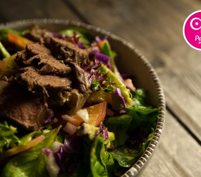 Paleo Recipe Poached Pig Tongue Salad