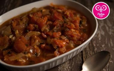 Paleo Recipe Scalloped Tomatoes