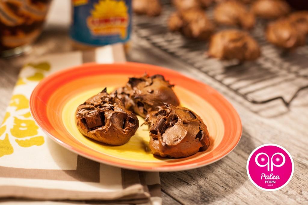 Paleo Recipe Chocolate No-Peanut-Butter Paleo Cookies 02