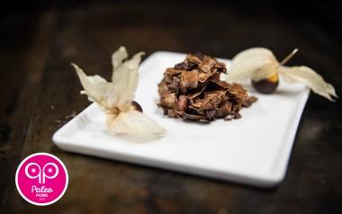 Paleo Recipe Dark Chocolate Dipped Gooseberries