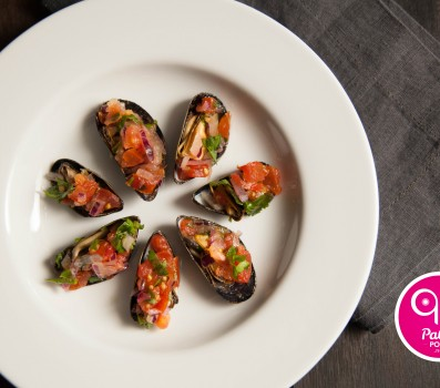 Paleo Recipe Stuffed Mussels