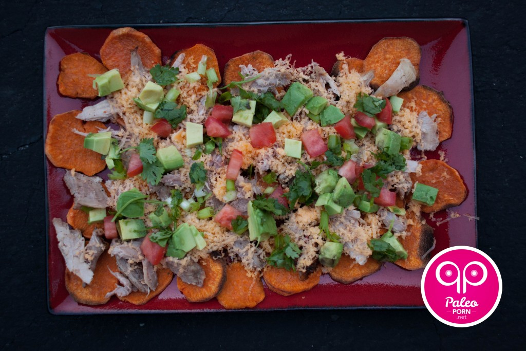 Paleo Recipe Sweet Potato Nachos