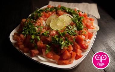 Paleo Recipe Tomato and Avocado Salad
