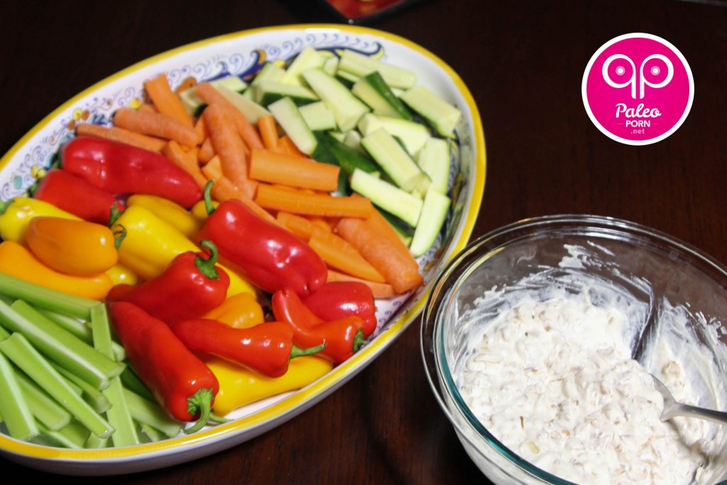 Paleo Super Bowl Recipes Crudites